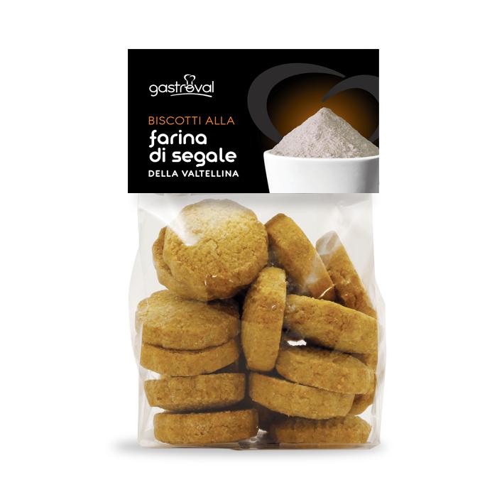 sacchetto di biscotti farina di segale